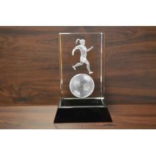 Auhind naisjalgpallur klaasis suur JIFFT475