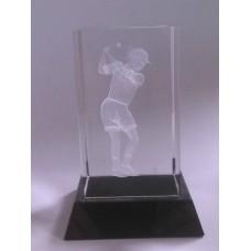 Auhind nais golfimängija klaasis JIFG475