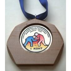 Puidust medal MPU11