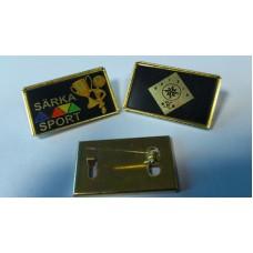 Märk kuldne 20X33 mm
