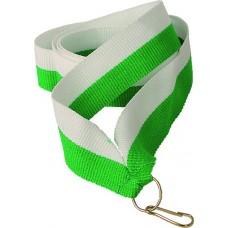 Medalipael roheline-valge, 22mm