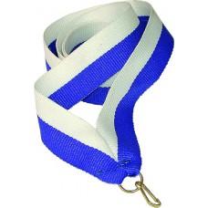 Medalipael sinine-valge, 22mm